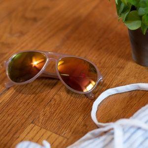 Betsey Johnson Aviator Sunglasses